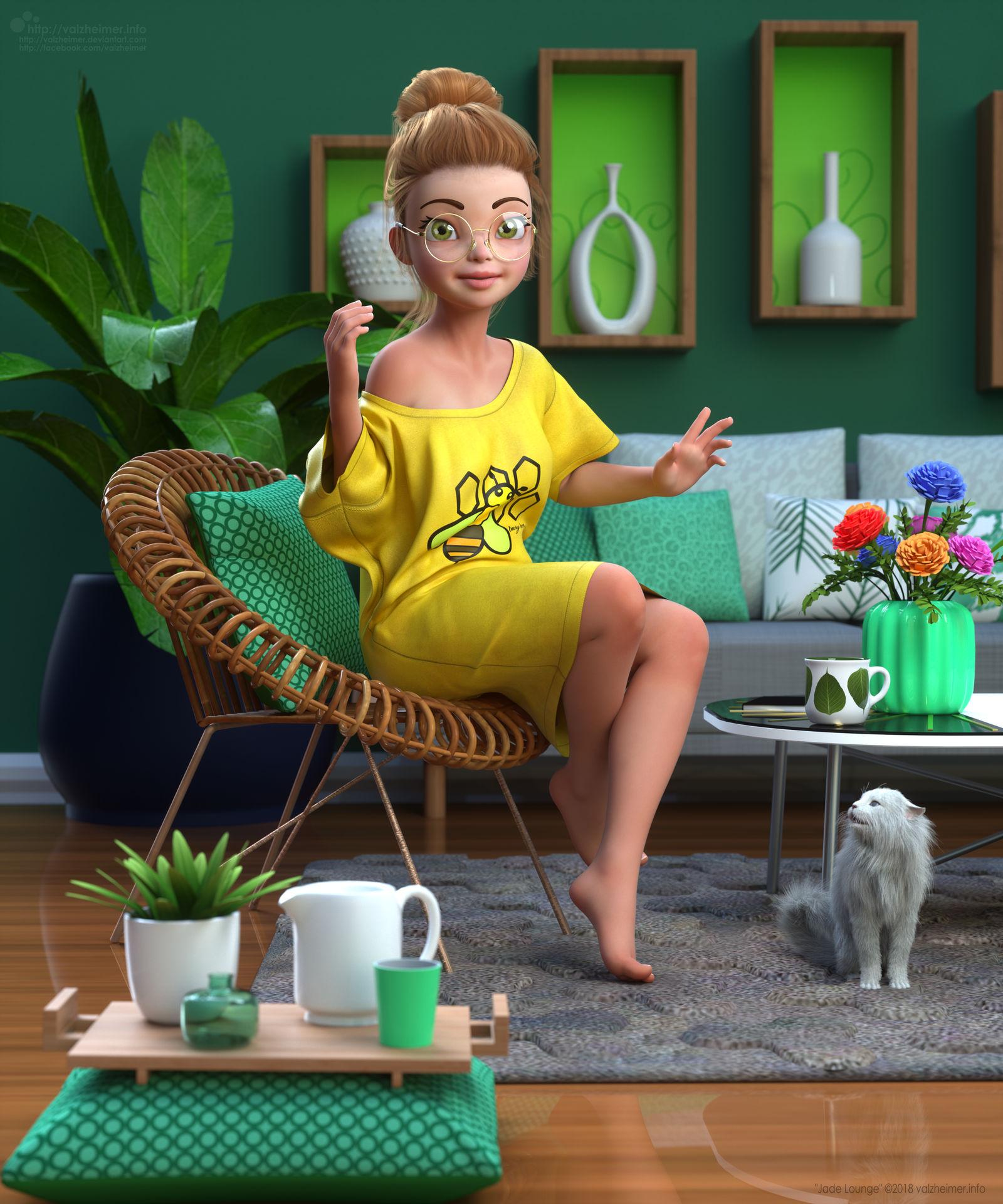 VA2018: Jade Lounge by VAlzheimer