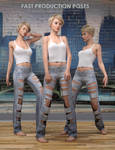 Fast Production Poses for Genesis 3 and 8 Females by VAlzheimer