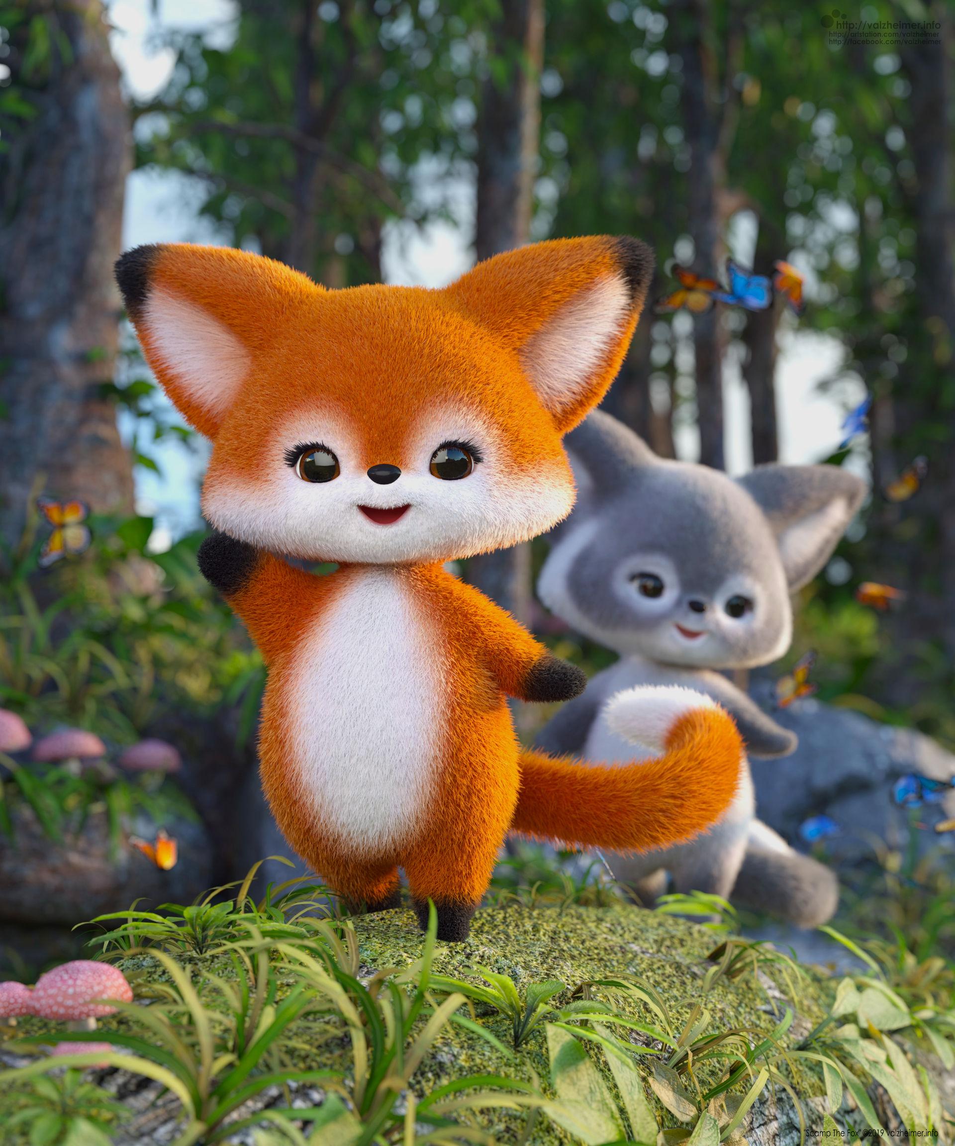 VA2019: Scamp The Fox - Hello (Promo)
