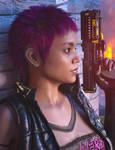 dForce Mod Punk Hair (Daz3D) Promo03