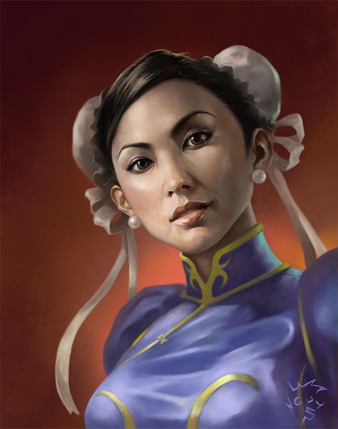 Chun-Li by malneyugn
