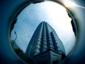Fisheye Japan - Building by Skybase