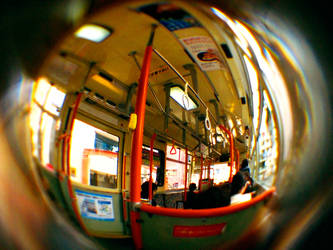 Fisheye Japan - Bus by Skybase