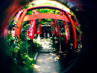 Fisheye Japan - Inari by Skybase