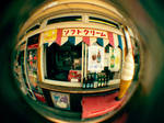 Fisheye Japan - IceCream stand by Skybase