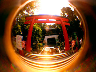 Fisheye Japan - Temple by Skybase