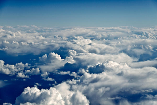 Stock: Clouds from Above
