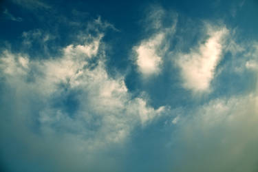 Stock: Clouds From Below