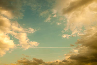 Clouds Below 8 by Skybase