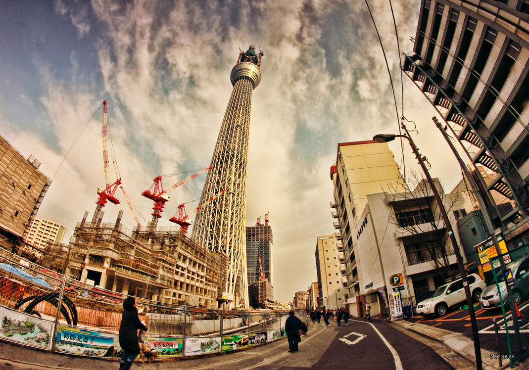 City Tokyo Skytree wallpaper