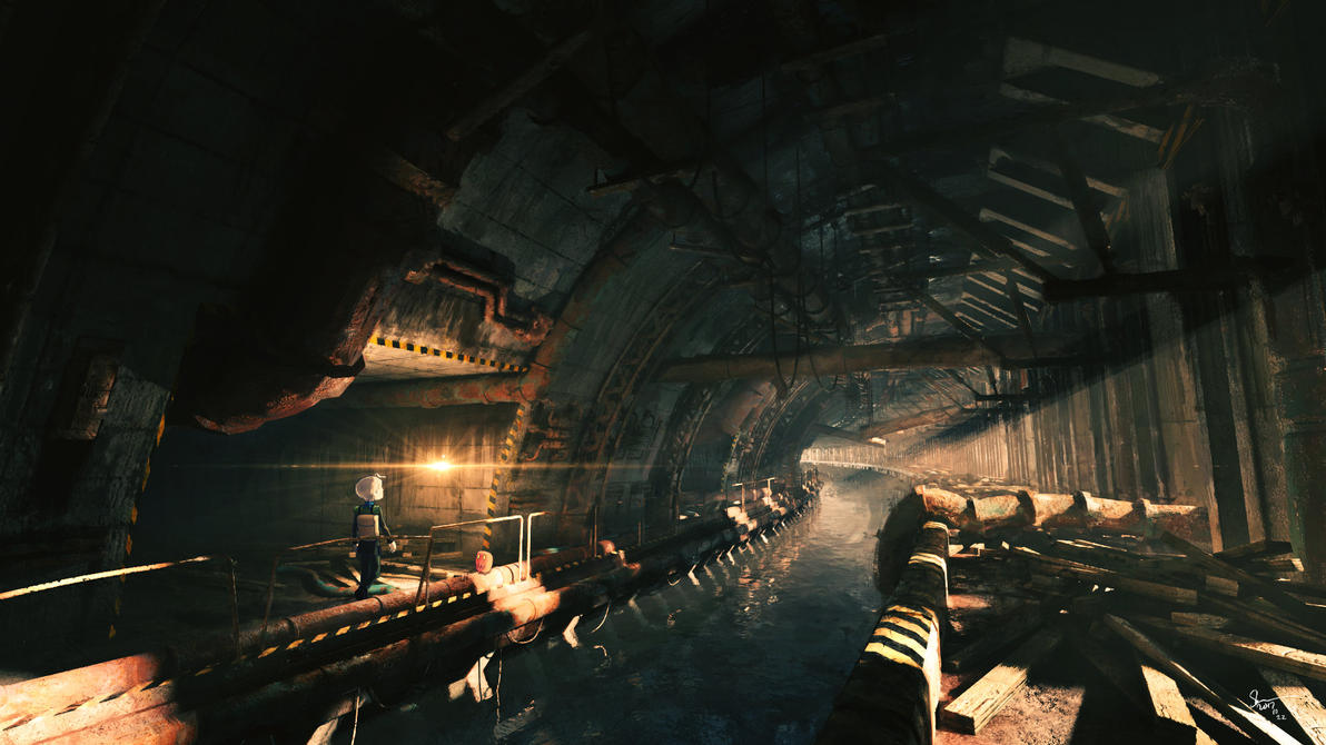 The Eastbound Tunnel by Skybase