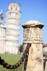 Leaning Bollard of Pisa by barefootliam