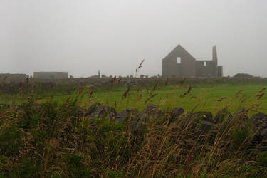 Orkney farm by barefootliam