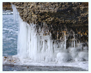 Icicles at Point Petre
