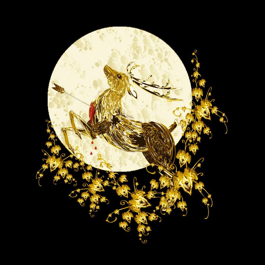 Ebony and Gold... by rockgem