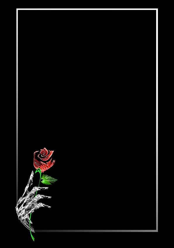 Lit. Template - Rose in Hand by rockgem
