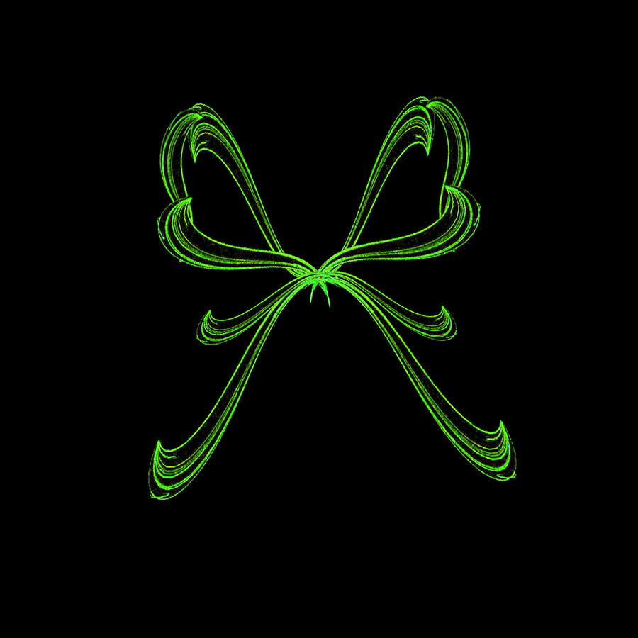 Fractal Stock - Ribbon Bow by rockgem