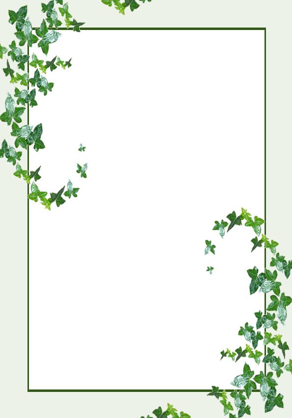 Lit Template Ivy Leaves By Rockgem On Deviantart