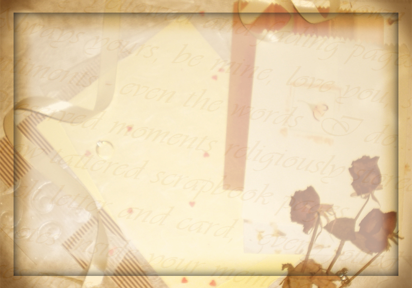 Lit. Template - paper + roses by rockgem on DeviantArt