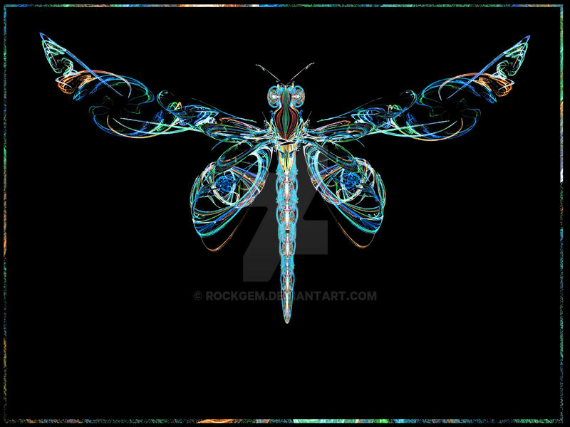 Electric Dragonfly by rockgem