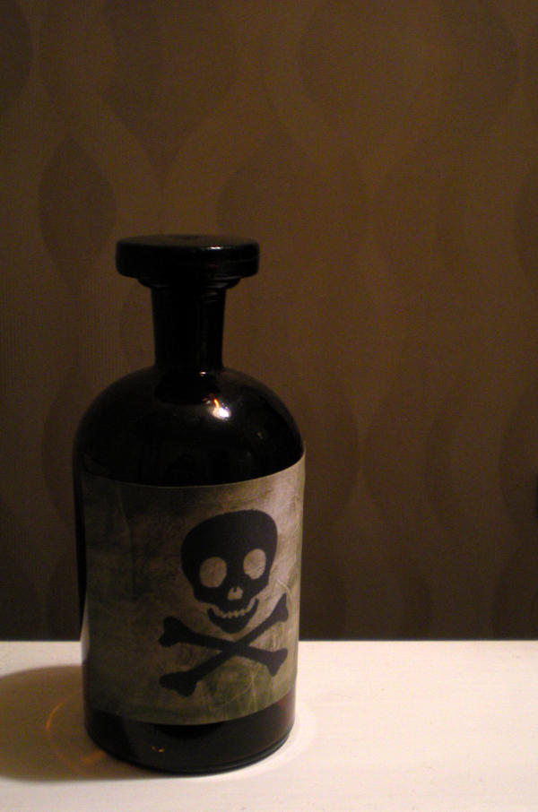 Stock - Poison Bottle by rockgem