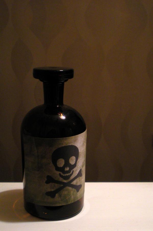 Stock - Poison Bottle