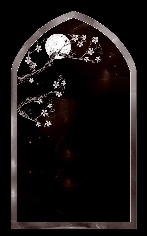 Lit. Template - Blossom Arch by rockgem