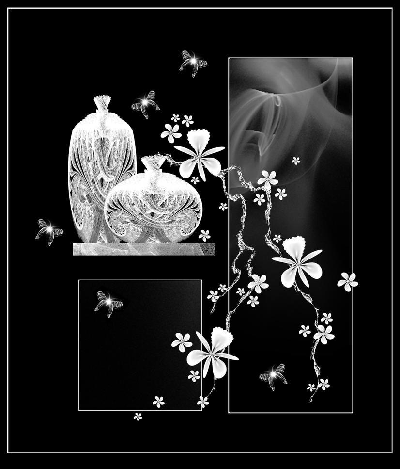 Silver Orchids by rockgem