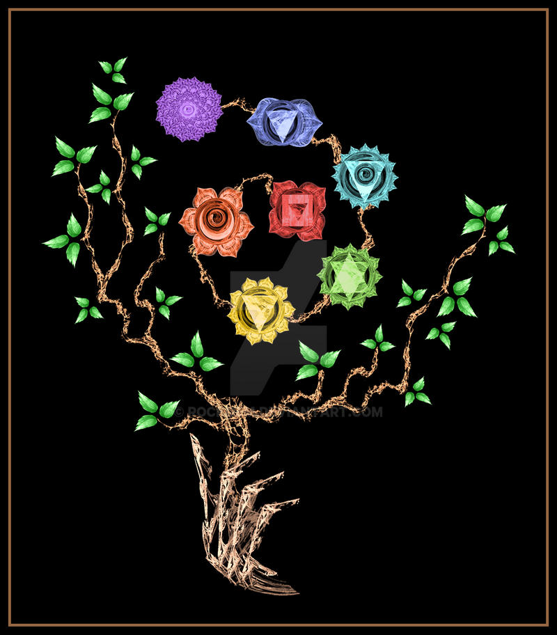 Chakra Spiral Tree by rockgem on DeviantArt