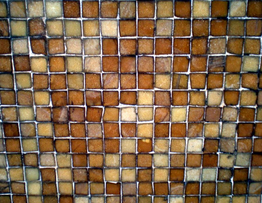 Stock Texture - Brown Mosaic