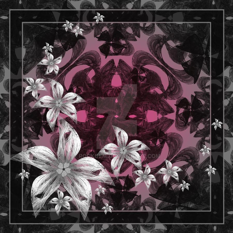 Silver Flowers... by rockgem