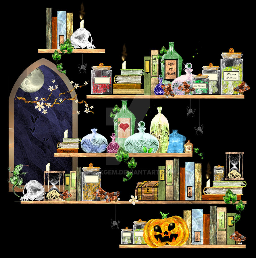 Witches Pantry by rockgem