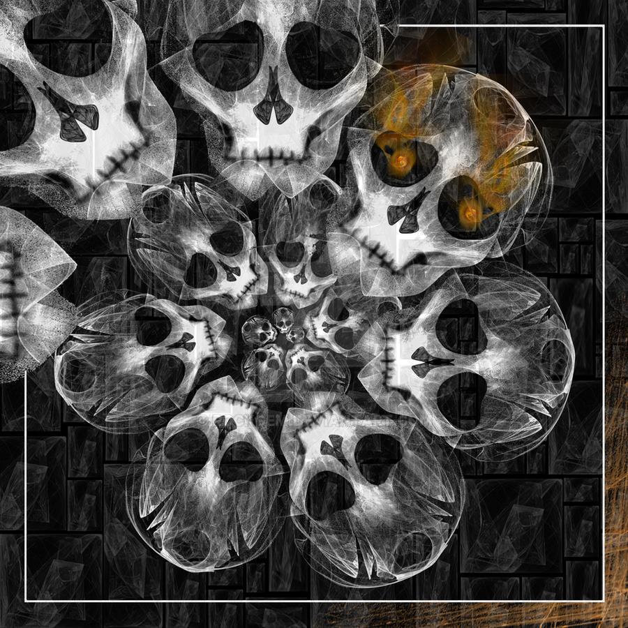 Skull Spiral by rockgem