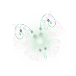 Fractal manip. Stock - Opal Butterfly