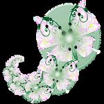 Fractal manip. Stock - Butterfly Spiral
