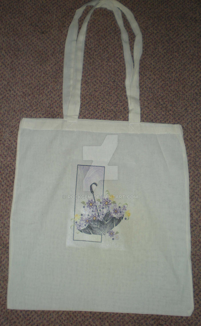 April Showers and May flowers - Tote Bag by rockgem