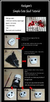 Rockgem's Simple Cute skull tutorial. by rockgem