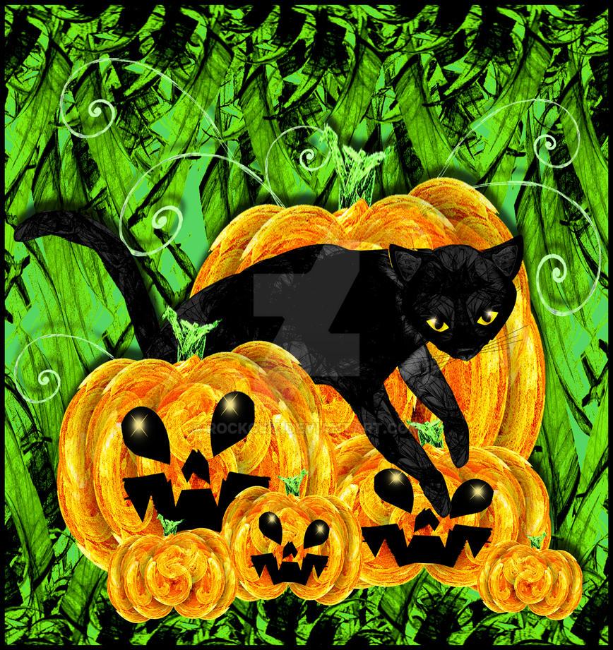 Pumpkin Kitty by rockgem