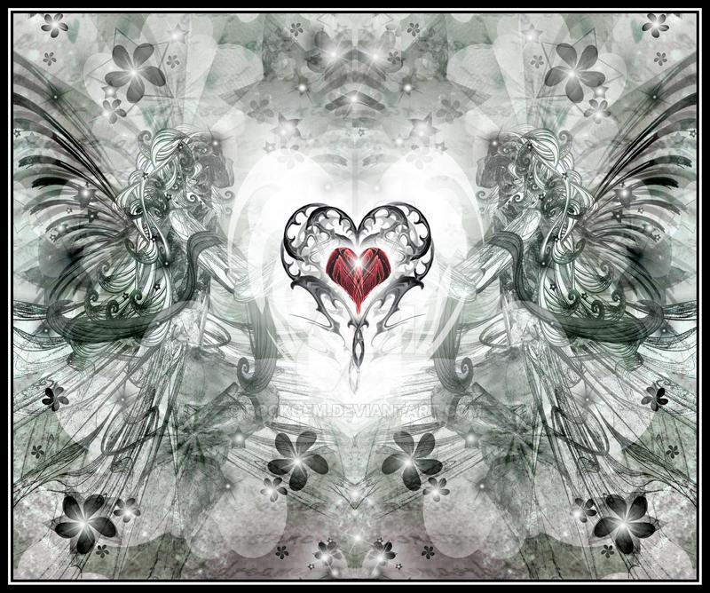 Shining Heart II by rockgem