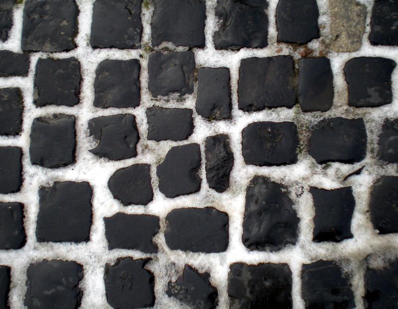 Stock Texture - CobbleStones and Snow by rockgem