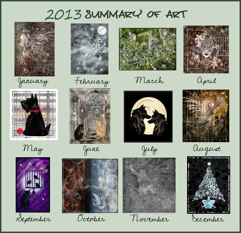 Summary of Art 2013 by rockgem