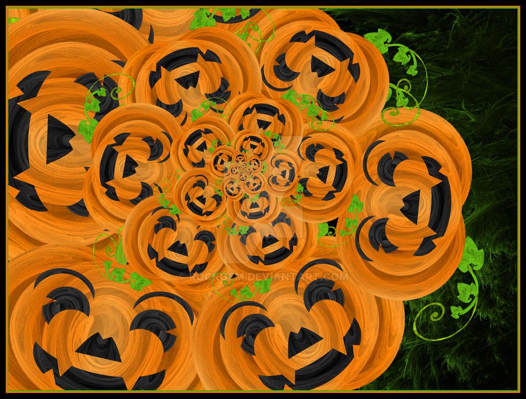 Happy Pumpkins by rockgem