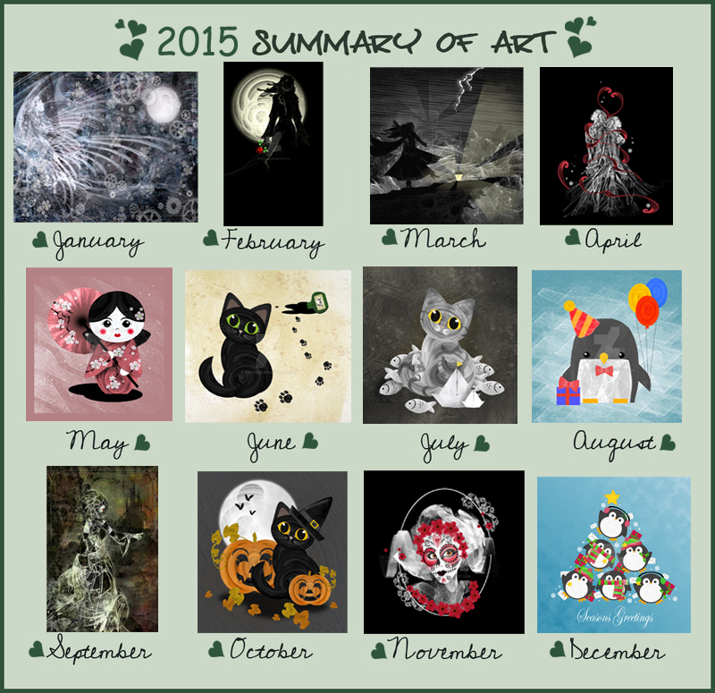 Summary of Art 2015 by rockgem