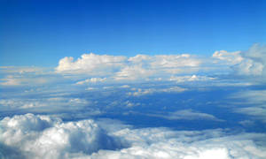 Stock - Blue sky and clouds II