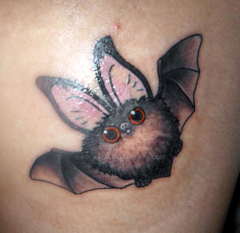 tattoo cute bat ii by rockgem on deviantart rh deviantart com Cute Bat Wings cute bat tattoo ideas