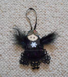 Leathercraft - Gothic Angel Decoration