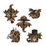 Steampunk Dragons II