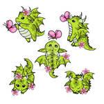 Blossom Dragons
