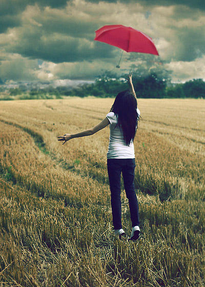 The Red Umbrella by larafairie - avatar (toplama in LEYL )