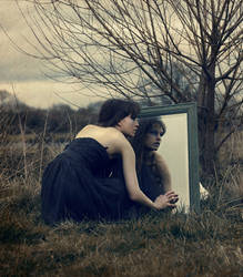 Dark Reflection by larafairie